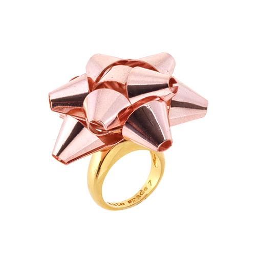 kate spade Bourgeois Bow Ring - Size 7
