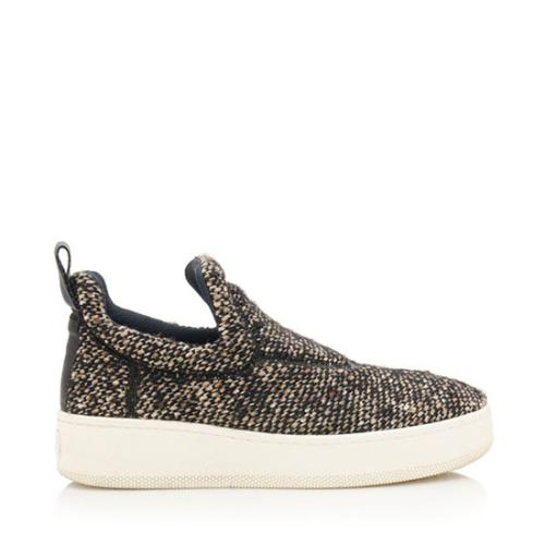 Celine Tweed Sneakers - Size 6 / 36