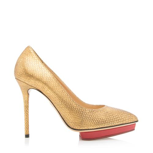 Charlotte Olympia Karung Debbie Pumps - Size 5.5 / 36 - FINAL SALE