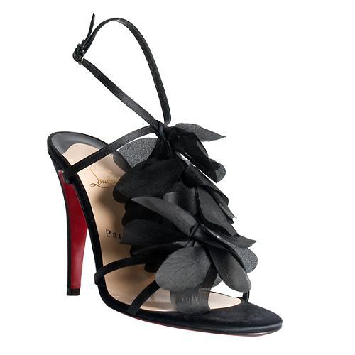 bd52e380f4af Christian-Louboutin-Crepe-Satin-Petal-T-Strap-Sandals --Size-10-40 40899 left angle large 1.jpg