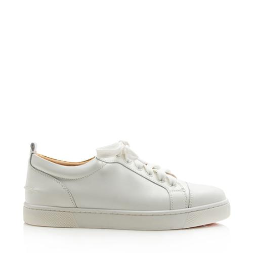 Christian Louboutin Leather Ying Louis Junior Sneakers - Size 6.5 / 36.5