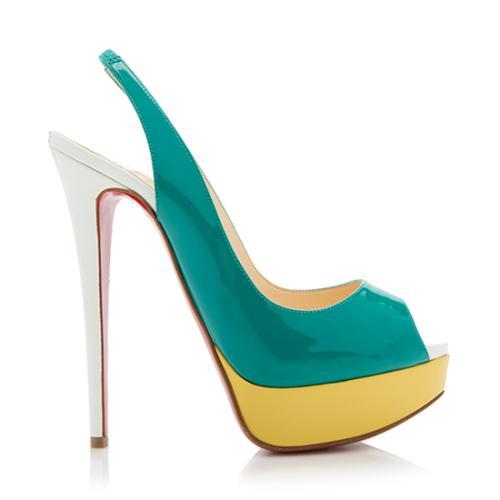 Christian-Louboutin-Patent-Leather-Lady-Peep-Toe-Platform-Pumps --Size-7-37- 89216 right side large 0.jpg 9312335b8d