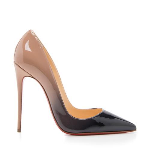 189cb2b85b4 Christian Louboutin Patent Leather So Kate Pumps - Size 7 / 37