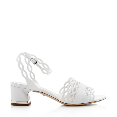 Dior Calfskin Tattoo Sandal - Size 7 / 37