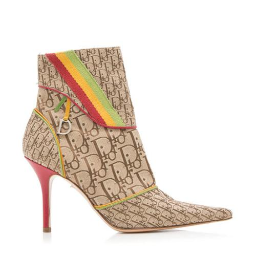 Dior Diorissimo Rasta Ankle Boots - Size 9 / 39