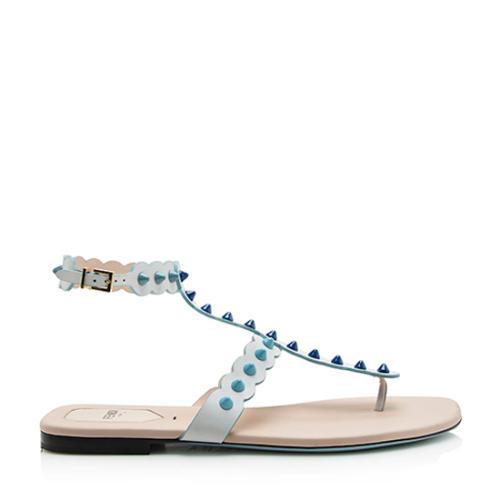 Fendi Studded Gladiator Sandals - Size 9 / 39