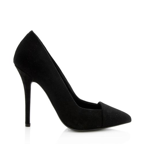 Giuseppe Zanotti Suede Pointed Pumps - Size 6.5 / 36.5
