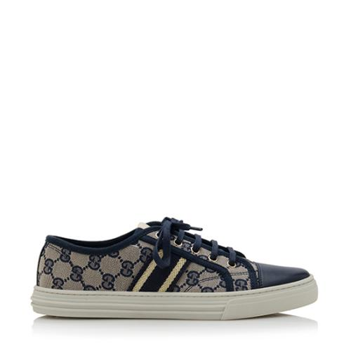f6570f9d58c Gucci-GG-Canvas-California-Low-Lace-Up-Sneakers --Size-85-385 77834 right side large 0.jpg