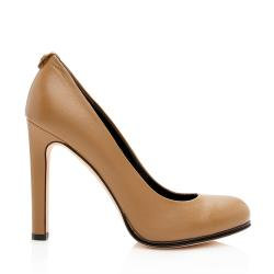 Gucci Leather GG Pumps - Size 7 / 37