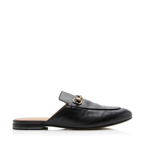 Gucci Leather Princeton Flats - Size 8.5 / 38.5