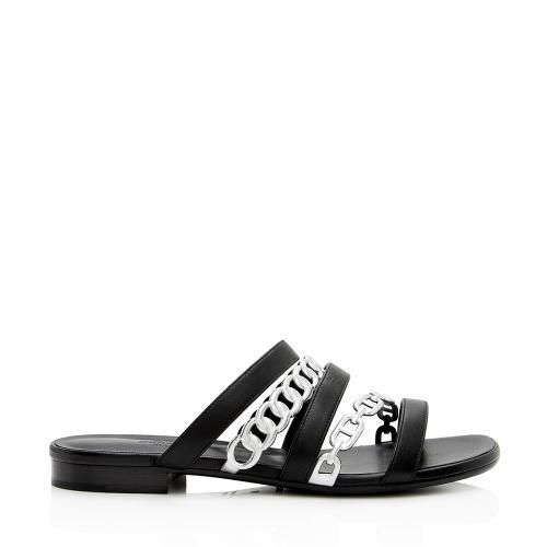 Hermes Nappa Leather Amalfi Sandals - Size 8 / 38