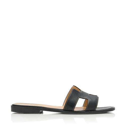 Hermes Oran Sandals - Size 8 / 38