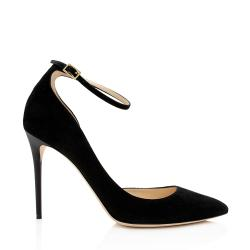 JImmy Choo Suede Lucy Pumps - Size 9 / 39
