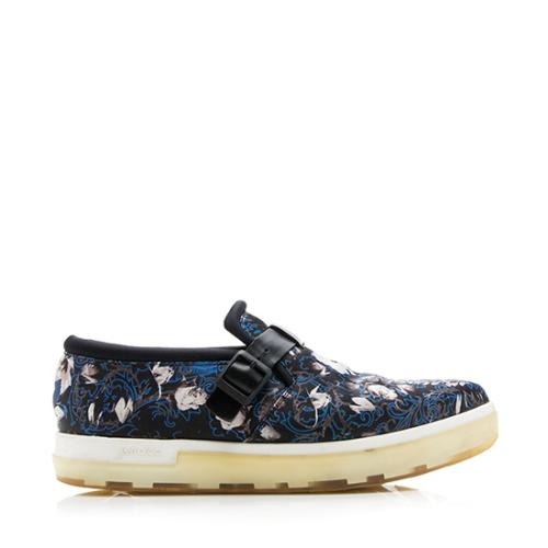 Jimmy Choo Floral Print Sneakers - Size 7 / 37