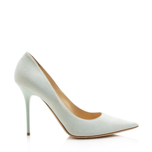 Jimmy Choo Suede Anouk Pumps - Size 10 / 40