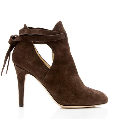 Jimmy Choo Suede Marina Boots - Size 6 / 36