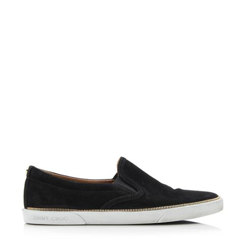20bf35484f5c Jimmy-Choo-Suede-Zipper-Demi-Slip-On-Sneakers --Size-7-37 92973 right side large 0.jpg
