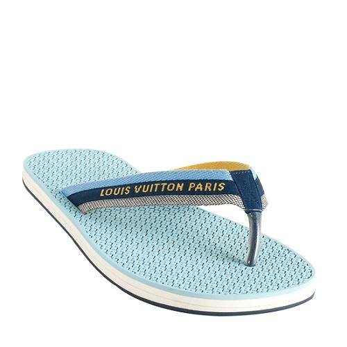 fd6c8b6678af Louis-Vuitton-Canvas-Bahia-Thong-Sandals --Size-9-39 59118 left angle large 1.jpg