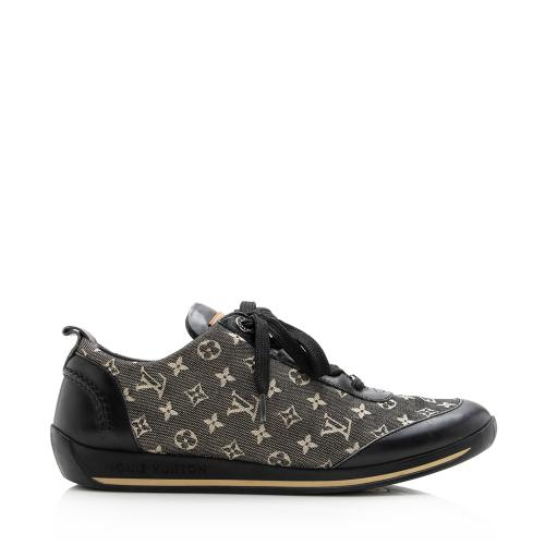 Louis Vuitton Denim Sneakers - Size 7 / 37