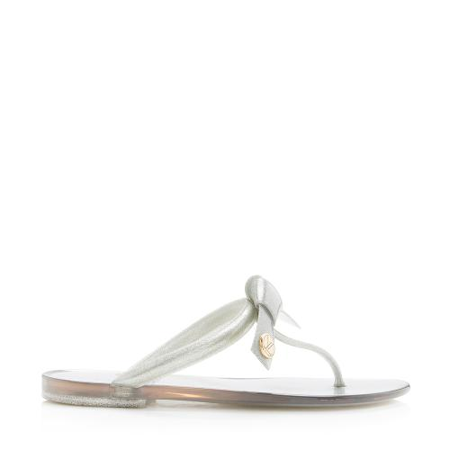 Louis Vuitton Jelly Sea Star Thong Sandals - Size 6 / 36