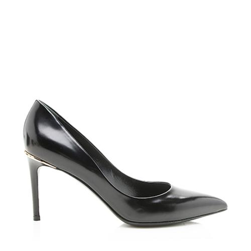 Louis Vuitton Patent Leather Eyeline Pumps - Size 8 / 38