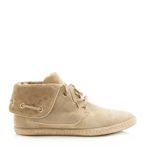 Louis Vuitton Suede Espadrille Sneakers - Size 10 / 40