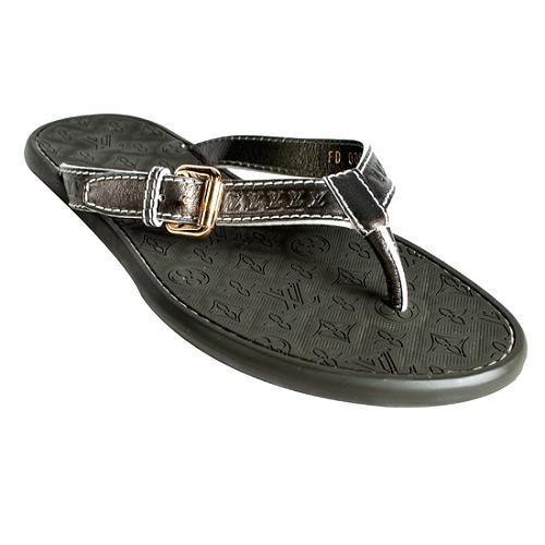 Louis Vuitton Wavy Thong Sandals- Size 7