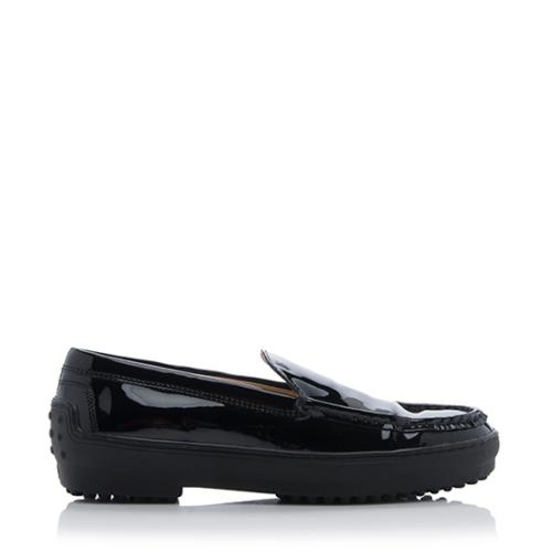 7f496be85b0f Tods Patent Leather Platform Loafers - Size 6   36 ...
