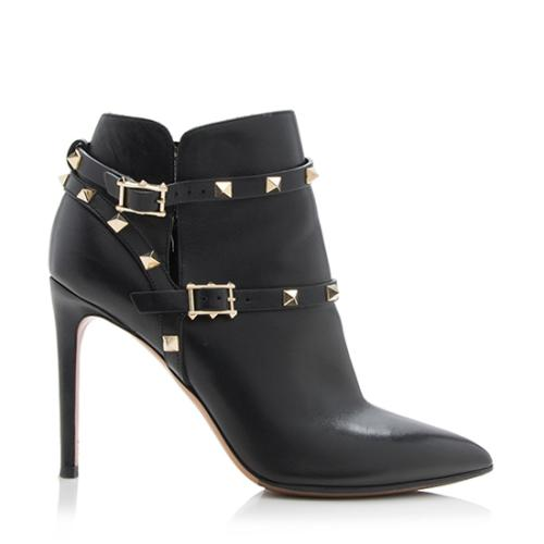 Cheap Sale Pictures Pre-owned - Rockstud leather ankle boots Valentino Cheap Clearance aI76pqPI