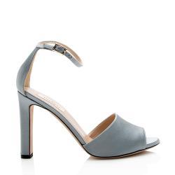Valentino Satin Ankle Strap Pumps - Size 9 / 39