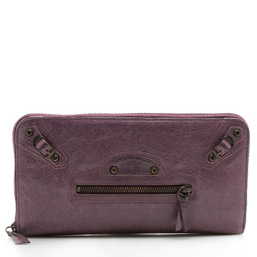 Balenciaga Leather Compagnon Zip Wallet - FINAL SALE