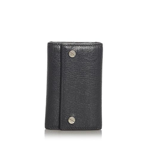 Balenciaga Leather Key Holder