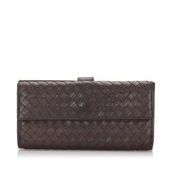 Bottega Veneta Intrecciato Calfskin Long Wallet