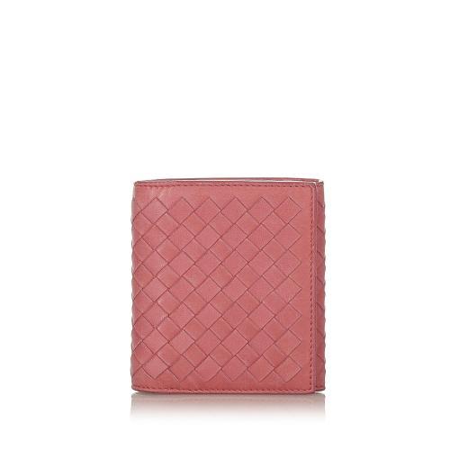 Bottega Veneta Intrecciato Leather Bifold Wallet