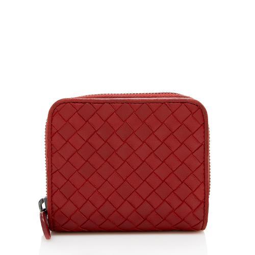 Bottega Veneta Intrecciato Nappa Compact Wallet