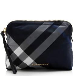Burberry Beat Check Cosmetic Bag