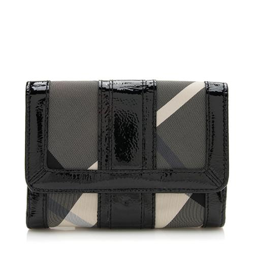 Burberry Beat Check ID Wallet