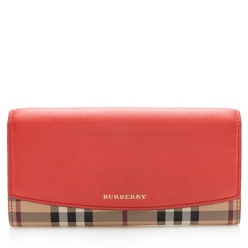 Burberry Haymarket Check Porter Wallet