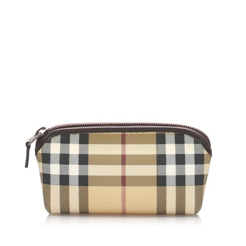 Burberry House Check Pouch