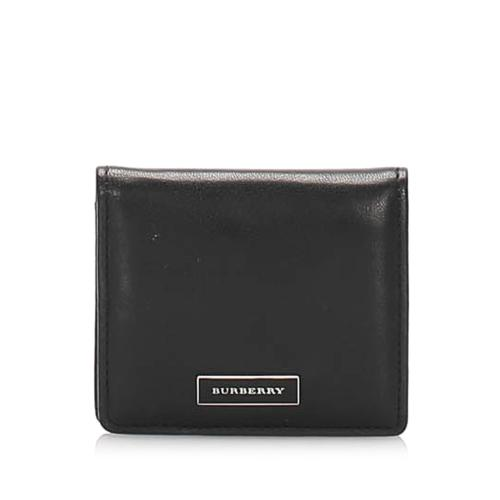 Burberry Leather Coin Pouch