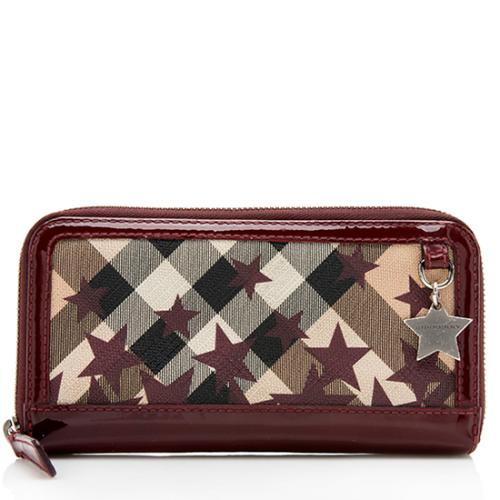 Burberry Embossed Leather Zip Around Wallet: Burberry Handbags And Purses, Small Leather Goods