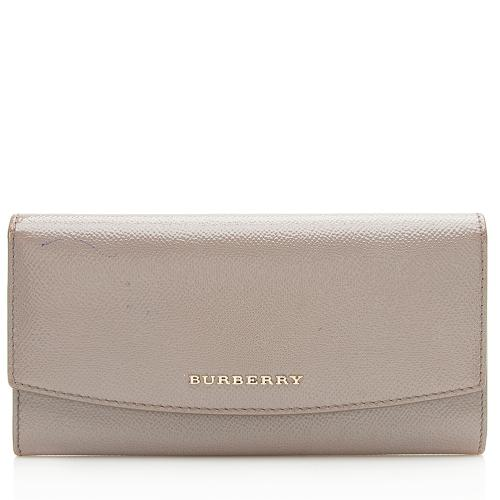 Burberry Patent Leather Porter Wallet