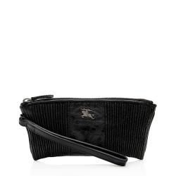 Burberry Patent Leather Wristlet