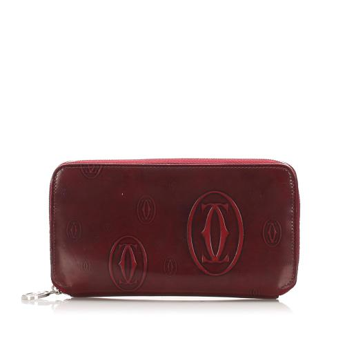 Cartier Happy Birthday Leather Long Wallet