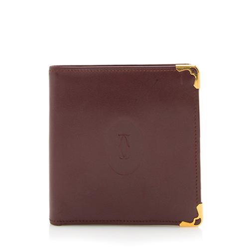 Cartier Leather Must De Cartier Bifold Wallet