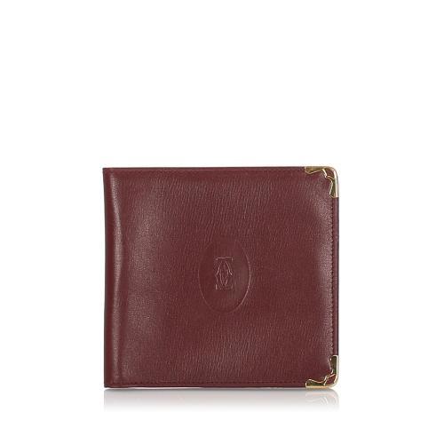 Cartier Leather Must De Cartier Card Case