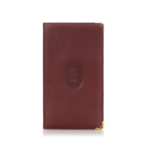 Cartier Leather Must De Cartier Wallet