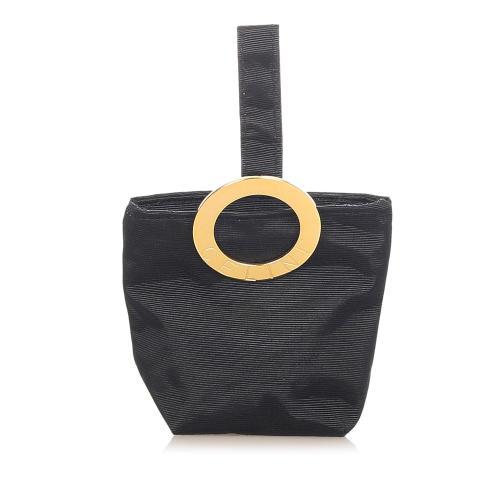 Celine Logo Ring Nylon Pouch