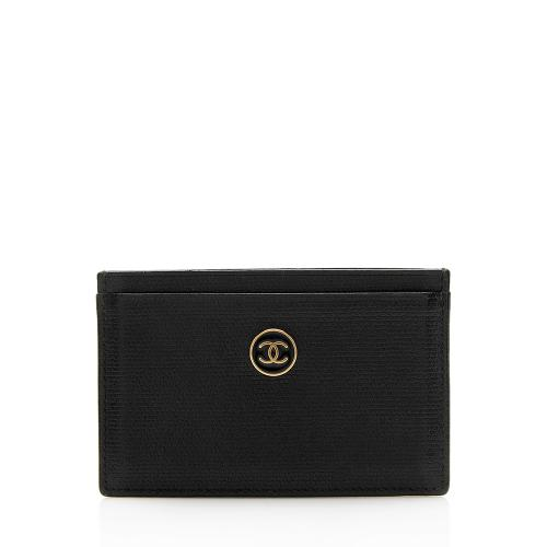 Chanel Caviar Leather Card Case