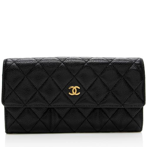 Chanel Caviar Leather Classic Wallet